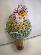 Kugel mit Blume