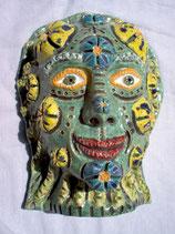 """Wandkeramikmaske """"flowerface"""""""