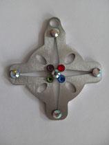 Anhänger Edelstahl Kreuz 2 l-50 mm
