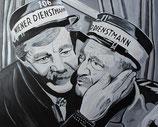 Paul Hörbiger und Hans Moser in Hallo Dienstmann