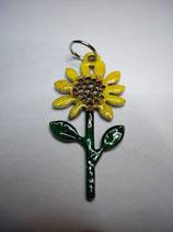 Anhänger Edelstahl Sonnenblume  l-35 oder l-45 mm