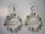 Ohrringe mit Perlen 4