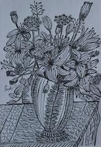 Lilien in Vase