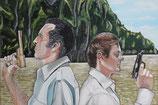 James Bond --Der Mann mit dem goldenen Colt--                     Roger Moore und Christopher Lee