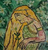 Lili im Garten