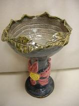Keramikschüssel Blattrand