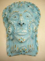 Wandkeramikmaske Neptun