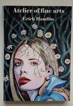 A4 Buch Atelier of fine arts Künstler Erich Handlos