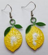 Ohrringe Zitrone