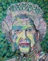 Queen Elizabeth 2.  zum 90.