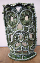Keramikmaske eyeflower 2