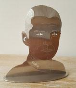 Ihr Portrait als Skulptur in Edelstahl