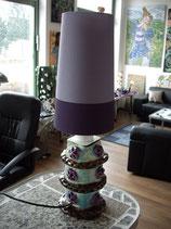 Lampe Violett