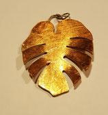 Palmenblatt in Gold oder Kupfer