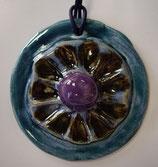Keramikanhänger blue