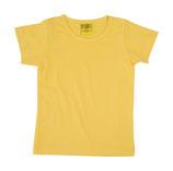 T-shirt uni Gelb von More than a fling