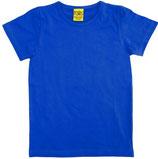T-shirt uni Blau von More than a fling (bis Grösse 158/164)