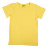 T-shirt uni Goldgelb von More than a fling
