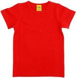 T-shirt uni Rot von More than a fling (bis Grösse 158/164)