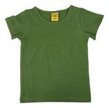 T-shirt uni Dunkelgrün von More than a fling (bis Grösse 158/164)