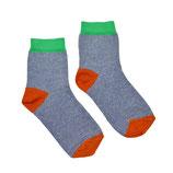 NEU: Socken Blau Mélange von Baba