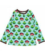 SALE: A-Linie Shirt mit Waldleben von Maxomorra