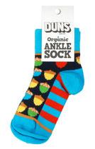 Socken mit farbigen Eicheln von DUNS
