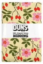Bettwäsche mit Heckenrosen von DUNS