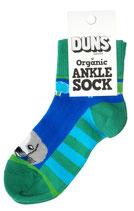 Socken mit Hund grün/blau von DUNS