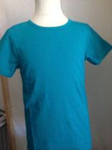 T-shirt uni Türkis von More than a fling