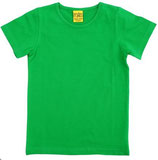 T-shirt uni Grün von More than a fling (bis Grösse 158/164)