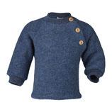 Pullover aus Wollfleece in Petrol von Engel Naturtextilien