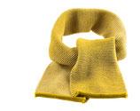 Woll-Schal Melange in Gelb-Natur von Disana