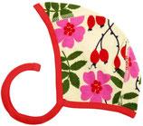 Bonnet mit Heckenrosen von DUNS