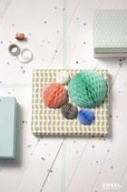 Pastell Honeycomb-Set 5 Stück von Engelpunt