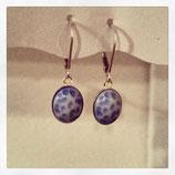 Ohrhänger in Blau