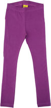 Leggings uni Mittelviolet More than a fling (DUNS)