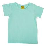 T-shirt uni Wasserblau von More than a fling