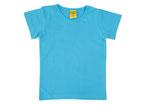 T-shirt uni Türkisblau von More than a fling