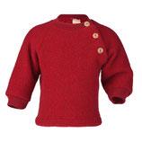 Pullover aus Wollfleece in Rot von Engel Naturtextilien