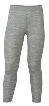 Leggings Wolle/Seide uni Grau