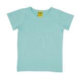 T-shirt uni Hellblau von More than a fling