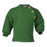 Pullover aus Wollfleecein Grün von Engel Naturtextilien