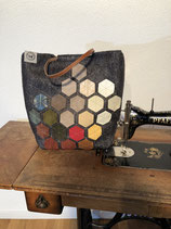 Handtasche Hexagon