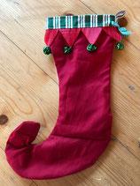 Santa Stiefel Glöckchen