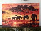 Bild Elefanten Karawane