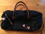MOM-KIZ Tasche Jeans, Vögelchen rosa