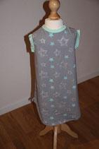 Kleid Glitzersterne
