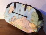 Reisetasche Weltkarte