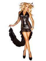 Виниловое платье со шлейфом АРТ-488-9